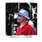 Alone Stranger Shower Curtain