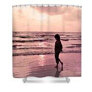 Alone With God Shower Curtain