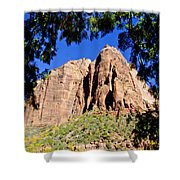 Along Emeral Pools Trail - Zion Shower Curtain