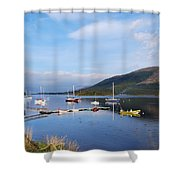 Along Loch Leven 2 Shower Curtain