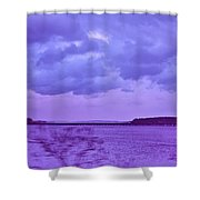 Along My Travels Shower Curtain