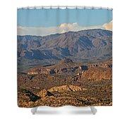 Along The Apache Trail Shower Curtain