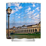 Along The Arno #2 Shower Curtain