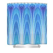 Along The Blue Nile Shower Curtain