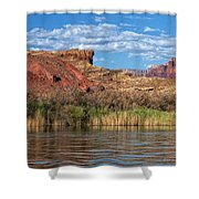 Along The Colorado River Shower Curtain