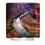 Along The Colorado River Shower Curtain