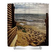 Along The Dunes Shower Curtain
