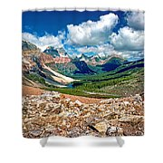 Along The Great Divide Shower Curtain