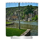 Along The Guadalupe Shower Curtain