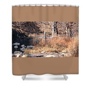 Along The Pedernales Shower Curtain
