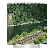 Along The Rio Grande Shower Curtain