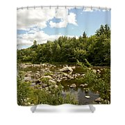 Along The River Shower Curtain