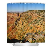 Along The South Rim Shower Curtain