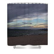 Along The Water Shower Curtain
