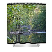 Along The Wissahickon In October Shower Curtain