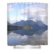 Alouette Lake Reflections - Golden Ears Prov. Park, Maple Ridge, British Columbia Shower Curtain
