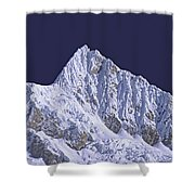 Alpamayo Peru Shower Curtain