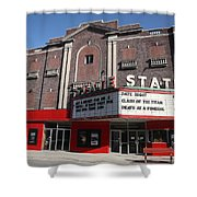 Alpena Michigan - State Theater Shower Curtain