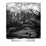 Alpes IIi Shower Curtain