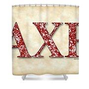 Alpha Chi Rho - Parchment Shower Curtain