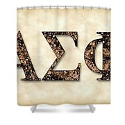 Alpha Sigma Phi - Parchment Shower Curtain