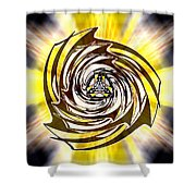 Alpha Starship One Shower Curtain