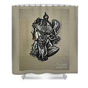 Alphonse Mucha 1860-1939 New Profile Shower Curtain