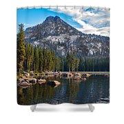 Alpine Beauty Shower Curtain