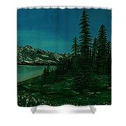 Alpine Garden Shower Curtain