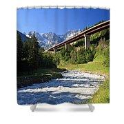 Alpine Highway Shower Curtain
