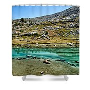 Alpine Lake Shower Curtain
