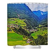 Alpine Meadow Shower Curtain