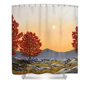 Alpine Meadow II Shower Curtain