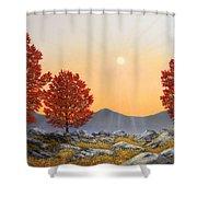Alpine Meadow II Shower Curtain