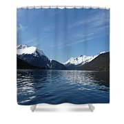 Alpine Mirror Shower Curtain