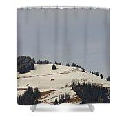 Alpine Pasture Shower Curtain