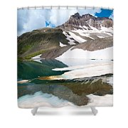 Alpine Reflection In The San Juans Shower Curtain