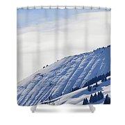 Alps Profile Shower Curtain