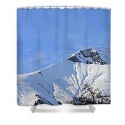 Alps Vista  Shower Curtain