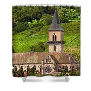 Alsace Church Shower Curtain