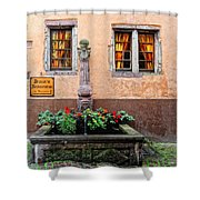 Alsace Fountain Shower Curtain