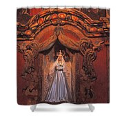 Altar And Madonna Shower Curtain