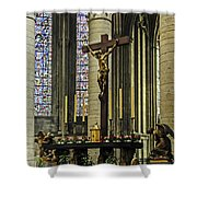 Altar Of Rouen Cathedral Shower Curtain