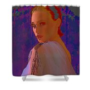 Altered Reality Shower Curtain