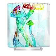 Altered Visions I Shower Curtain