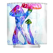 Altered Visions II Shower Curtain