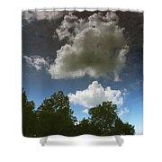 Alternate Dimension Shower Curtain