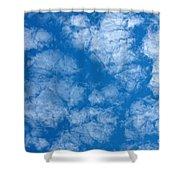 Altocumulus Cloud. Shower Curtain