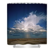 Altocumulus Thunder Head Dumping Rain Shower Curtain