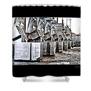 Alton Hydro Plant Shower Curtain